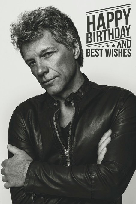 Rock God, Jon Bon Jovi turns 55 today!  Happy Birthday