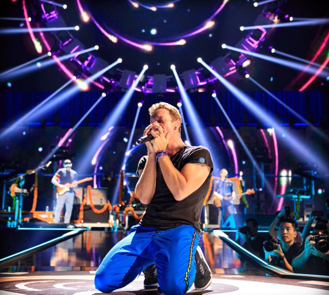 Happy 40th birthday to Chris Martin of Coldplay!