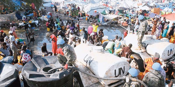 Aid worries rise for S.Sudan refugees crossing into Sudan