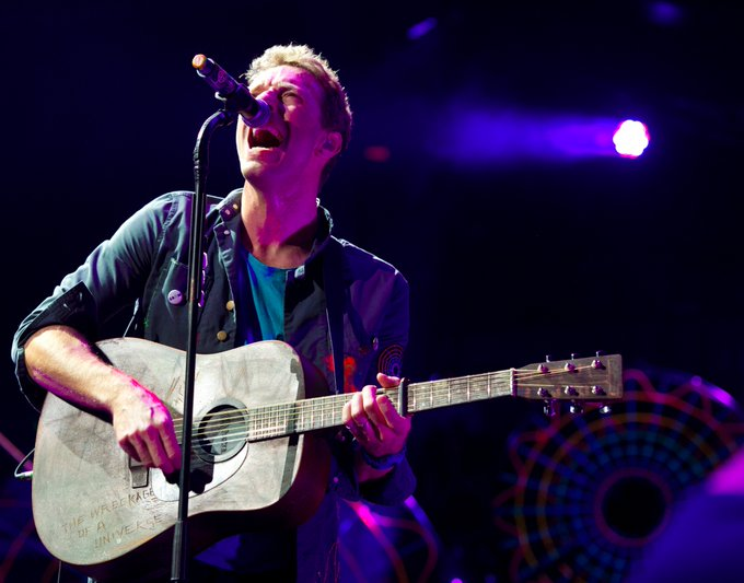to when was here in 2012. Happy Birthday, Chris Martin!