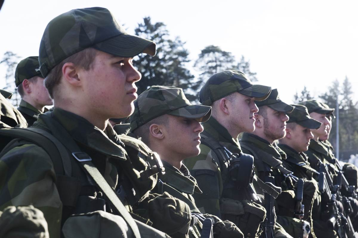 Sweden brings back military draft amid concerns over Russian aggression
