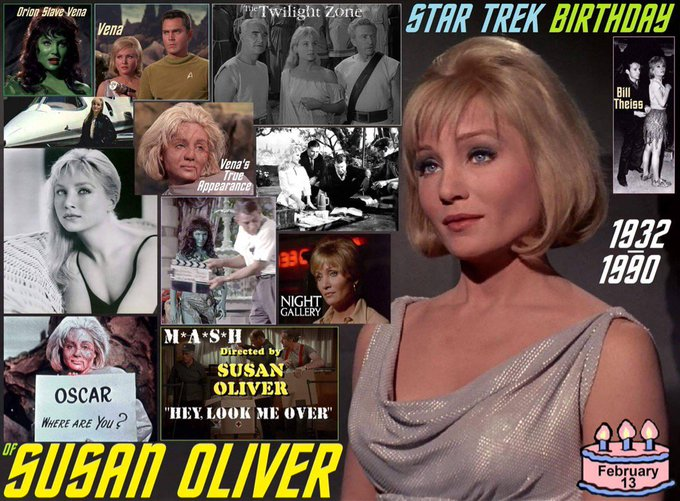 Happy belated birthday Susan Oliver.