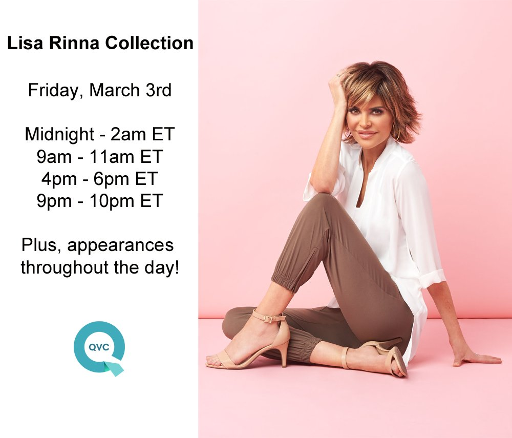 Coming up LIVE on @QVC in 30 minutes with my Today's Special Value and more tonight and all day tomorrow! https://t.co/1oJ9AxMoxH