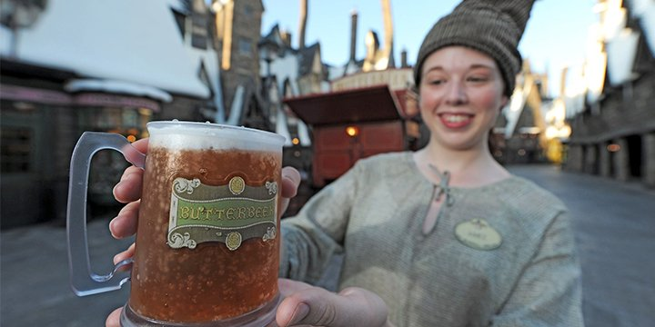 The secrets behind the creation of butterbeer at the Wizarding World of Harry Potter