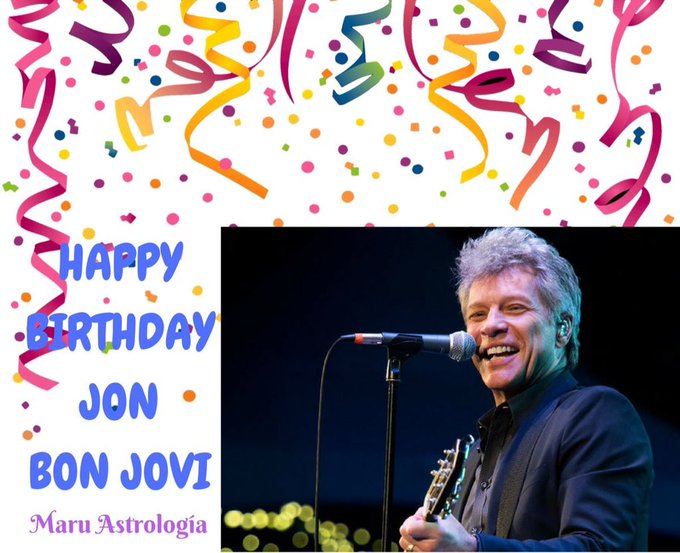 HAPPY BIRTHDAY JON BON JOVI!!!!