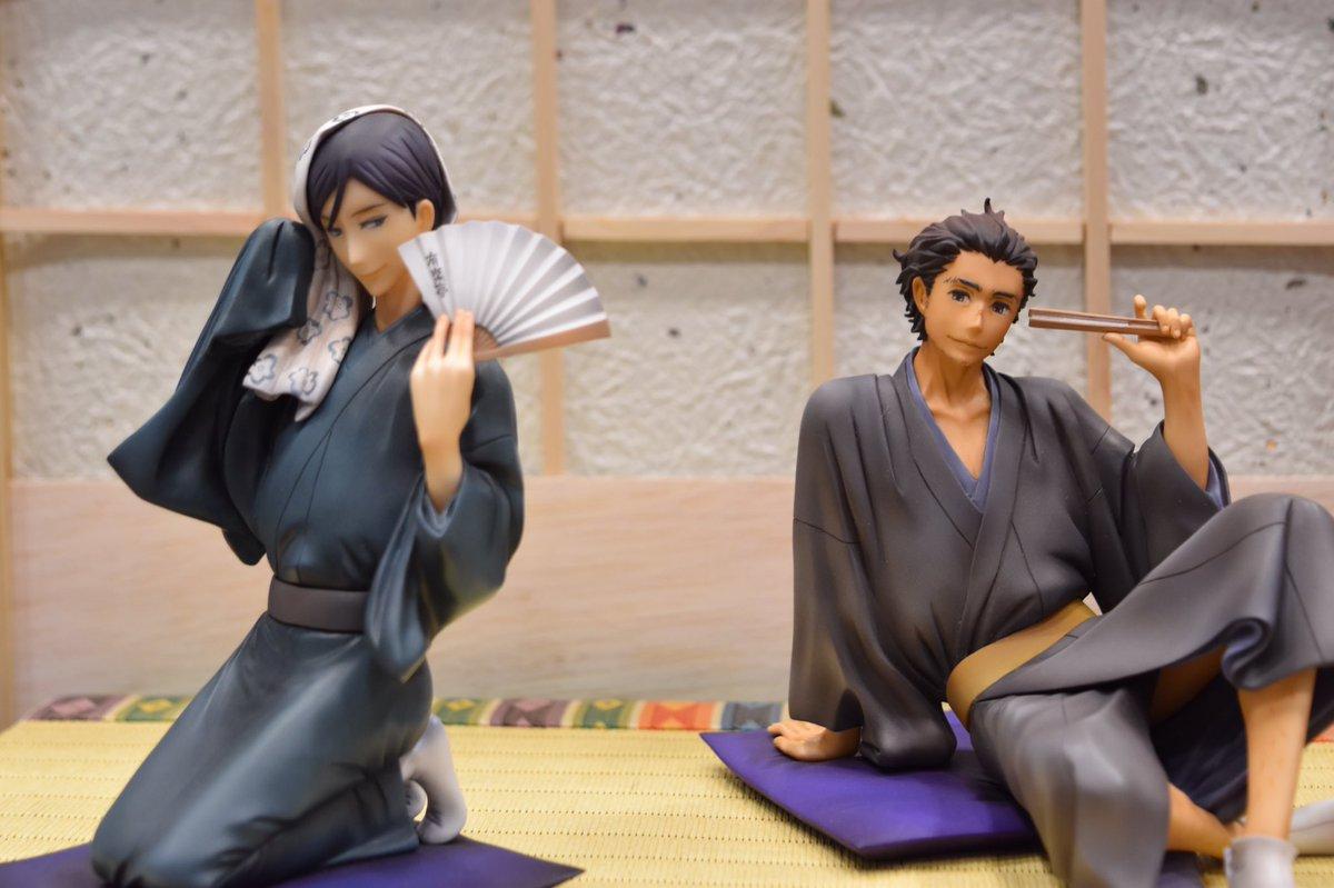 菊比古と初太郎いいアニメなんだよなあ#wf2017w #昭和元禄落語心中