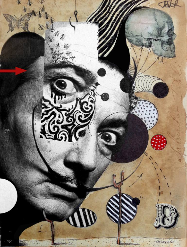 Loui Jover Salvador Dalí - Frida Kahlo - Bob Dylan #collage  @LouiJover https://t.co/hm2cP6vUre