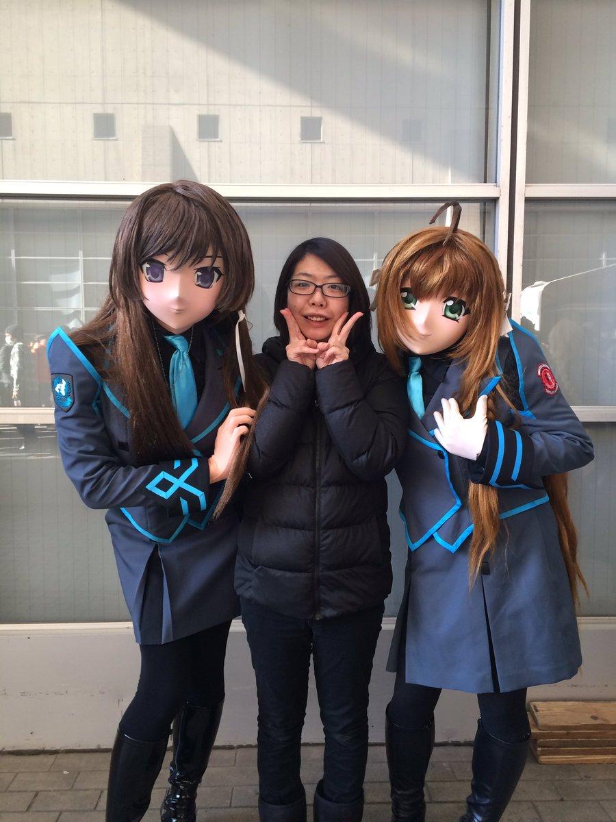 遙と唯依姫にもお会い出来ましたん♡  #muvluv #agesoft #シュヴァケン