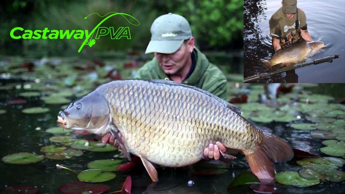 New @Castaway_PVA Team Member  Les bowers   https://t.co/oV9icGH0dW   #carp #fishing #carpfishing #p