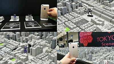 エヴァの第3新東京市のリフトビルや兵装ビルなどをミニチュアサイズ1/2500スケール化、初号機と使徒の戦いを再現できる「