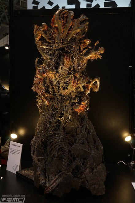 『#シン・ゴジラ』第5形態、『#竹谷式自在置物』『#エヴァ』『#バベルの塔』『#アッセンブルボーグ』などを展示!【#ワン