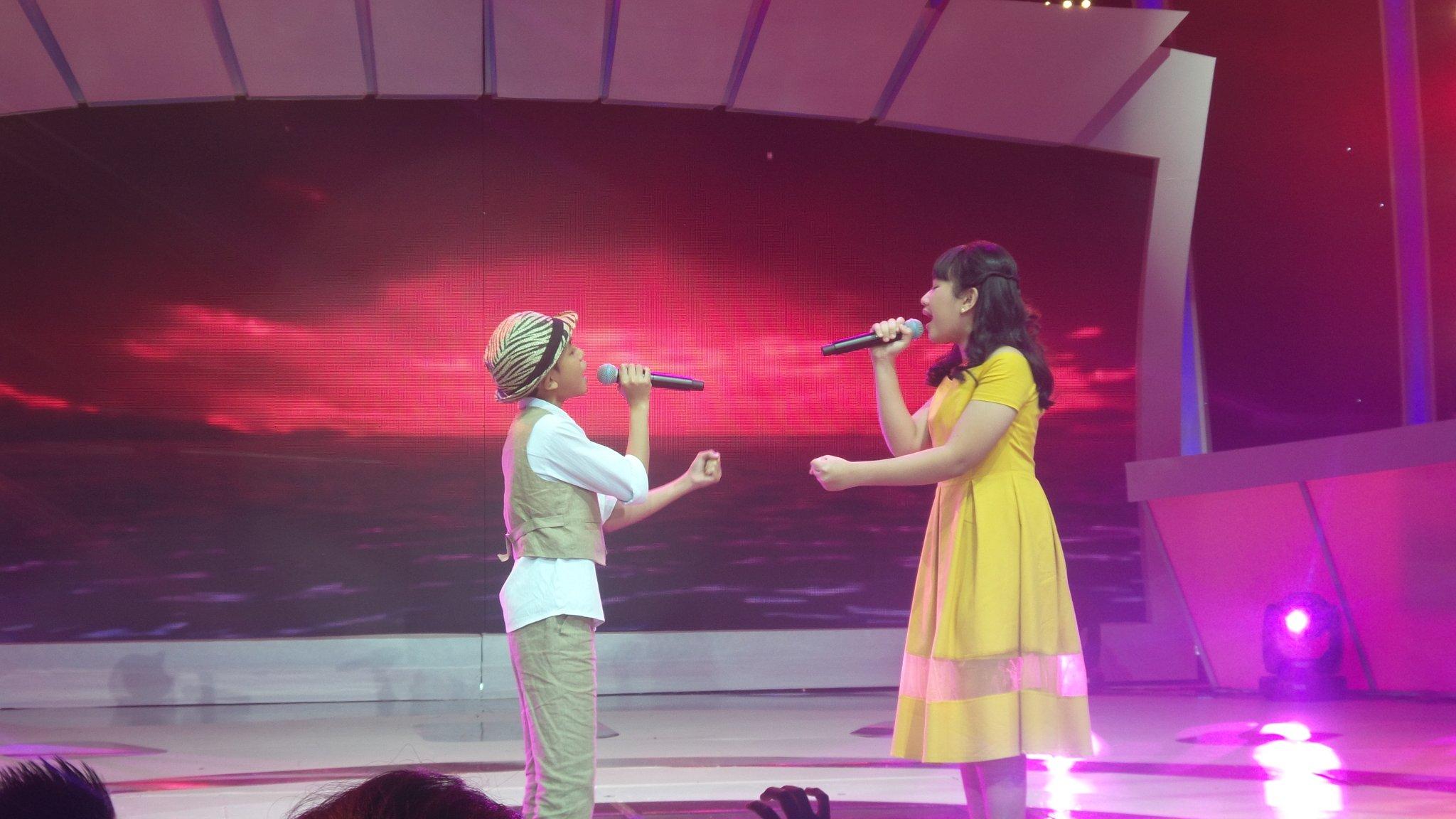 Duet yg ini jg gak kalah bagusnya @AuraIdolJr @NavisIdolJr dgn lagu my heart #IdolJrDuetStar @Official_MNCTV https://t.co/no53LsTwZ2