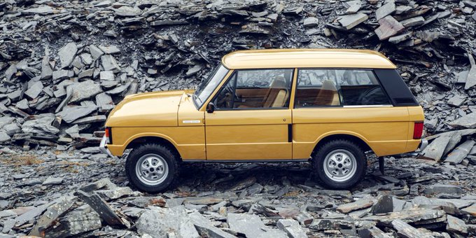 Land Rover resurrects its best Range Rover ever (at a price) https://t.co/dlzlrmXrxO https://t.co/Izo3RcZYZr