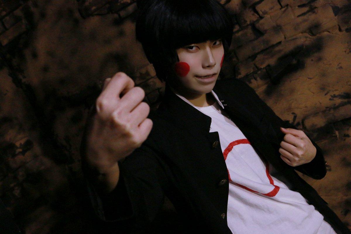 モブサイコ100エクボ憑依モブ(衣装捏造)Photo by 歌月睦