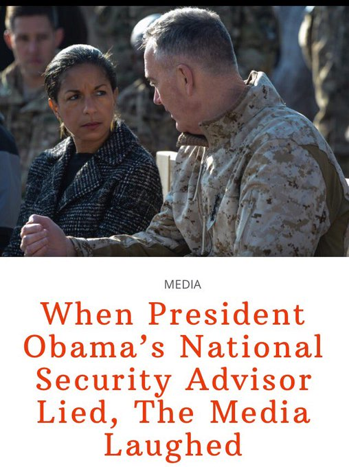 Remember The Media Hysteria   When The #Obama National Security Advisor LIED⁉️  Neither Do I   https://t.co/EhwFkfnY9H