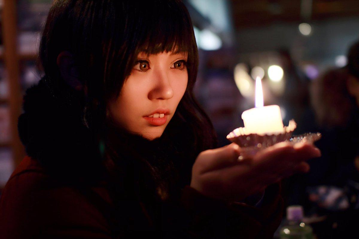【コスプレ/櫻子さんの足下には死体が埋まっている】灯火が、貴方を導きますよう九条櫻子:とうか 館脇正太郎:恋音さん Ph