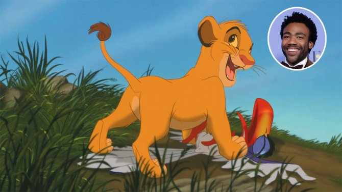 "Disney's live-action ""Lion King"" has found the voice of Simba: Donald Glover"