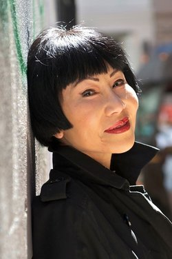 "Happy Birthday to author, Amy Tan. She is best known for writing  ""The Joy Luck Club\"" and \""The Kitchen God\s Wife.\"""