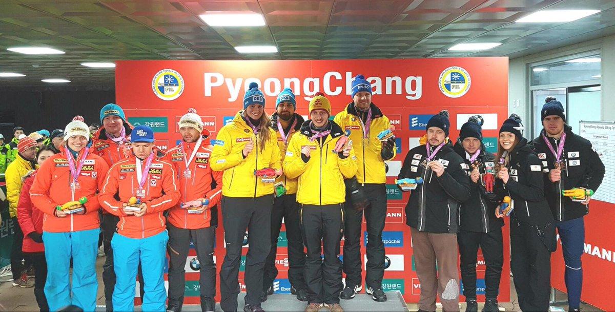 BSD Rennrodler siegen in der Team-Staffel Weltcup PyeongChang #LugeLove https://t.co/JK8RFcUkZp