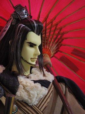 やっぱり殤さんには赤が似合う!台湾の展示写真を羨ましく観てたので赤い傘の殤さんを直に拝見できて嬉しかった!そして何気に刑