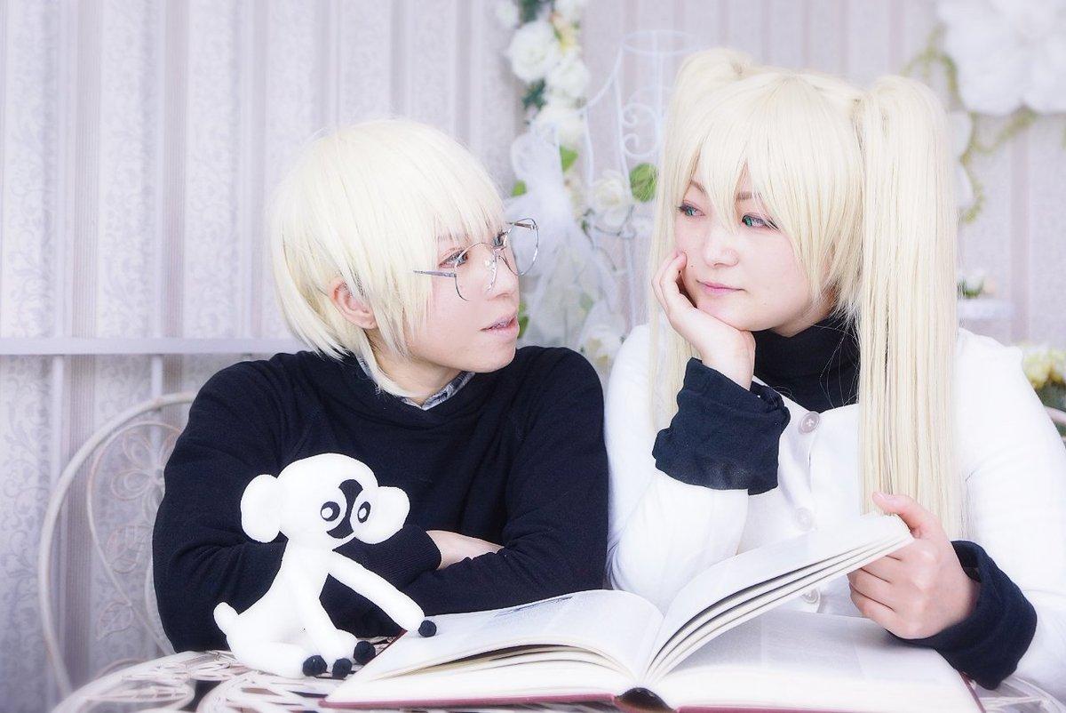 血界戦線 ホワイト:みはじろさん@0x0_mihajiro  ブラック:りゅーき久しぶりのマクベス~!!僕の妹可愛い可愛