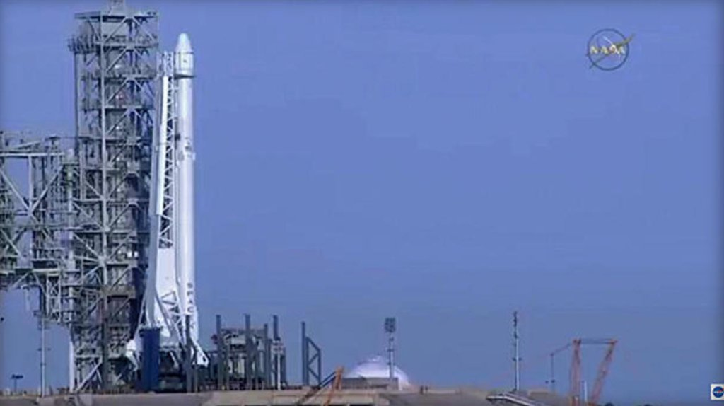 SpaceX launches rocket from NASA's historic moon pad at Kennedy Space Center: