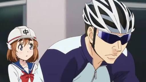 ばくおん!っていうオートバイアニメのモブキャラですよー!ちなみに女体化手嶋さんみたいなキャラも出てきます\(^o^)/