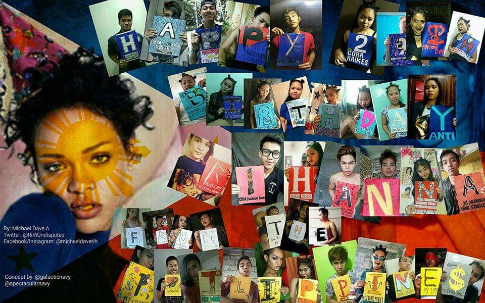 Happy Birthday Robyn Rihanna Fenty. Mahal ka namin. From Rihanna Philippines