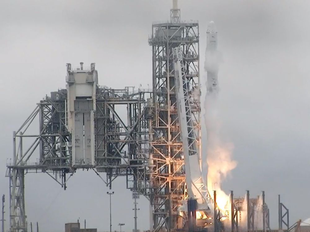 SpaceX launches rocket carrying space station supplies from NASA's historic moon pad