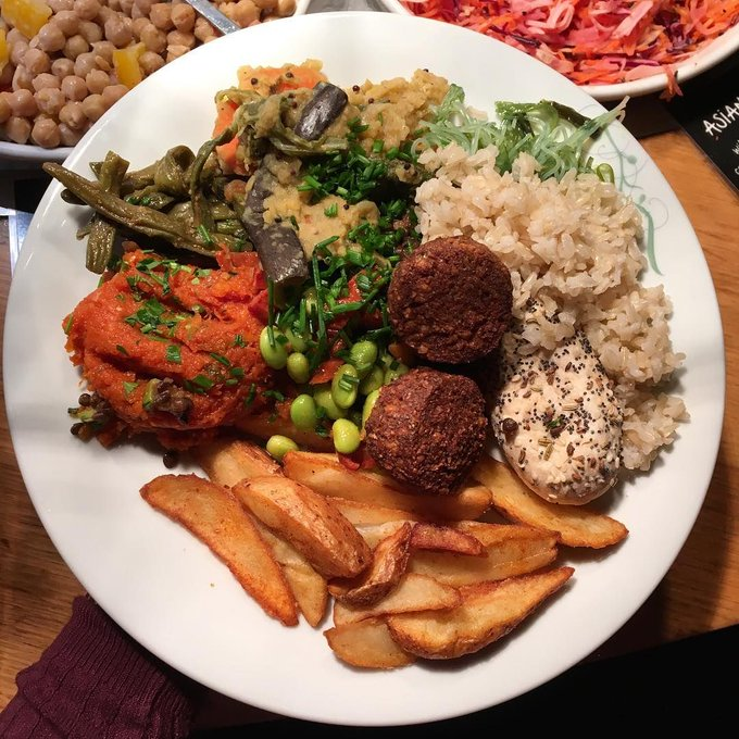 What a fine looking plate @healthfullyvegan #mytibits