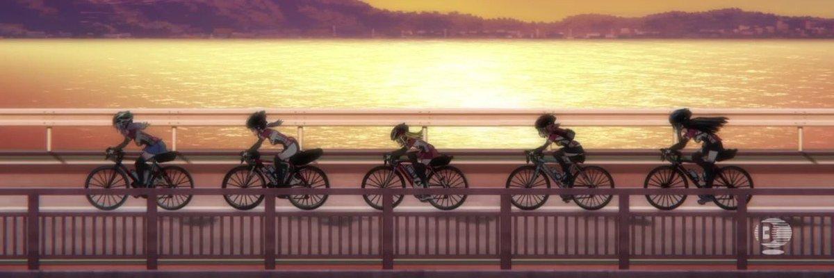 いつかこんなふうに仲間と走りたいなぁ╰(*´︶`*)╯#ロードバイク乗りと繋がりたい #ロードバイク #ろんぐらいだぁす