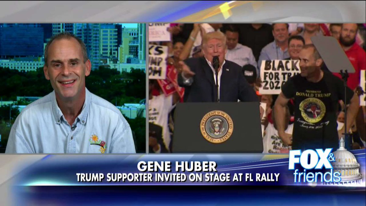 Being Pulled on Stage by @realDonaldTrump Was 'Dream Come True' for FL Man @ffweekend https://t.co/0910Zb9Iyb