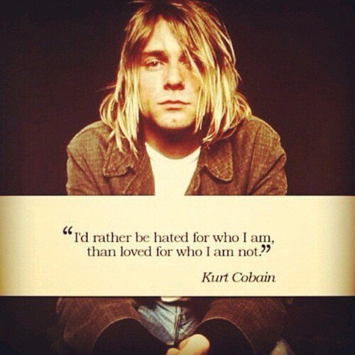 Happy birthday Kurt Cobain. Truly legend