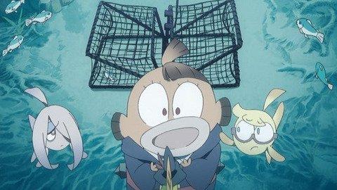 《リトルウィッチアカデミア》7話感想・画像 半魚人アッコ最高!退学処分にならなく良かった