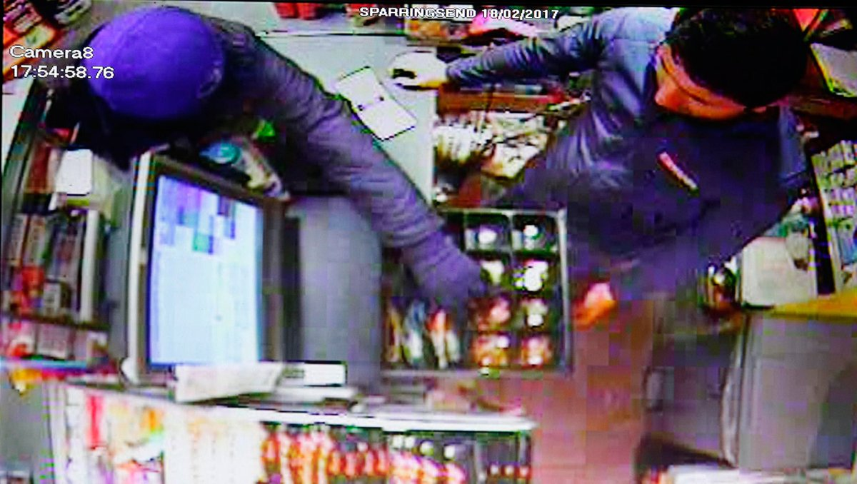 Terrifying cctv shows co op workers held at gunpoint by violent thugs in eltham cash raid express co uk - Cctv Shows Shocking Moment Armed Robber Queues Up With Customers Before Terrifying Shop Raid Download Image Terrifying Cctv Shows Co Op Workers Held At