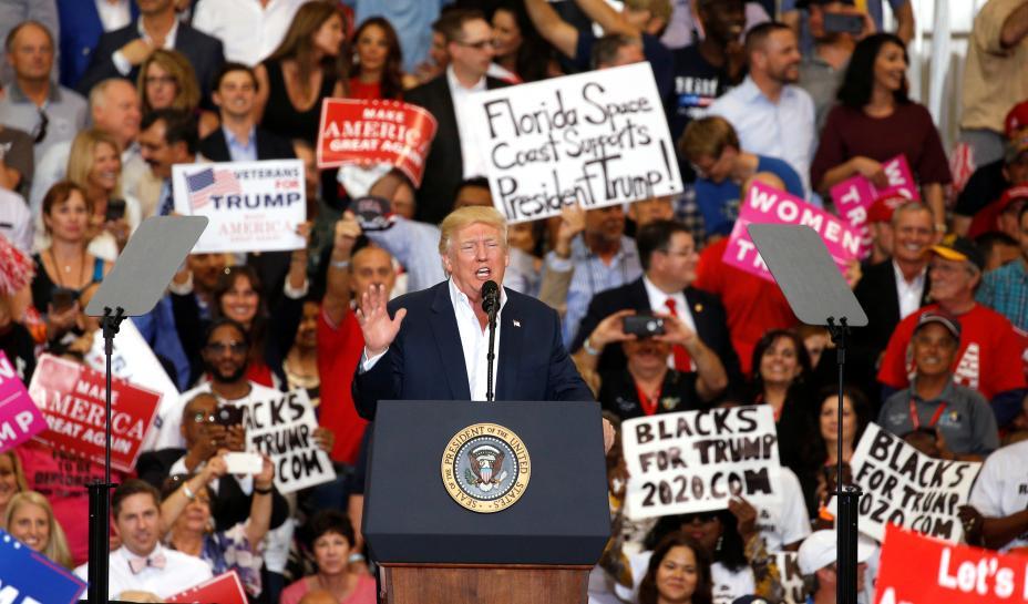 Trump comment about immigration 'problems' baffles Sweden