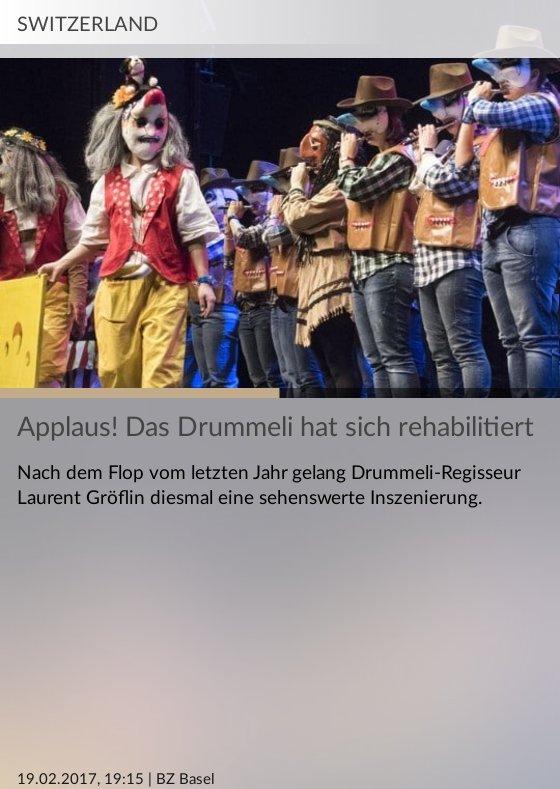 Applaus! Das Drummeli hat sich rehabilitiert #Elbphilharmonie #Kanton #UNESCO #Istanbul https://t.co/F1ZpVMQUaX https://t.co/hbPJOdXQpI