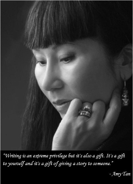 Happy Birthday Amy Tan! Read one of her books to celebrate.