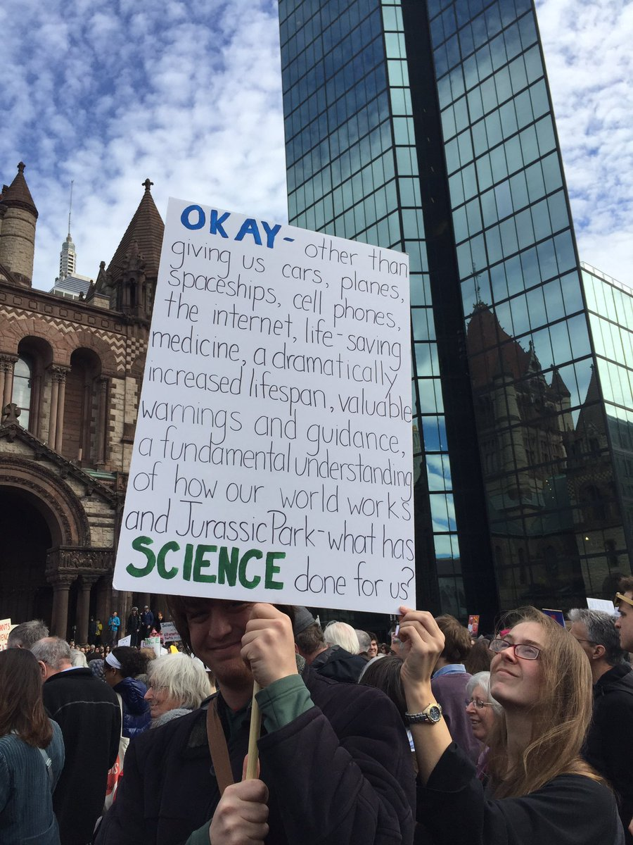 RT @AnjaHoffmann: What has #science done for us?  #standupforscience via @bevLaMarr #i ...