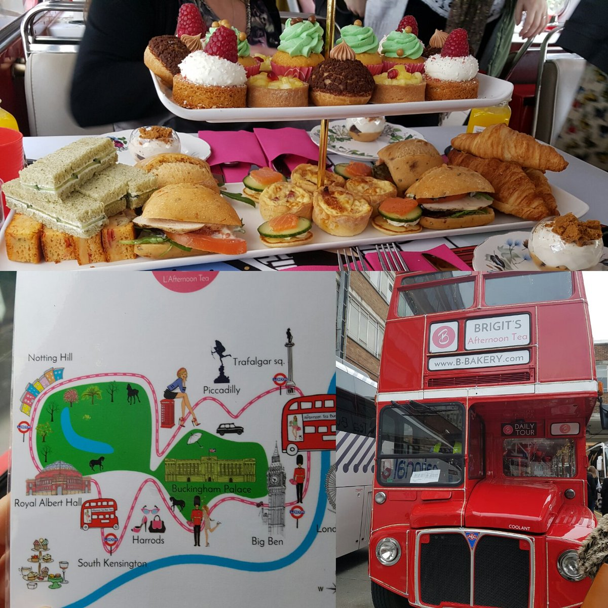 Amazing afternoon tea bus tour from @B8Bakery #London #hendo https://t.co/qDqH64VkBu