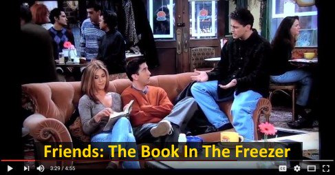 The Book In The Freezer https://t.co/eQ5OomNZ1G Clips from the FRIENDS episode dealing with the books T #video 9 https://t.co/w8XcgqHQhp