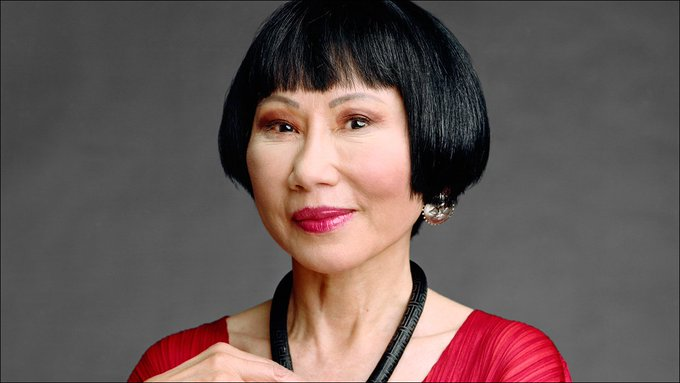 """If you can\t change your fate, change your attitude.\"" Happy Birthday to Amy Tan, born this day in 1952."