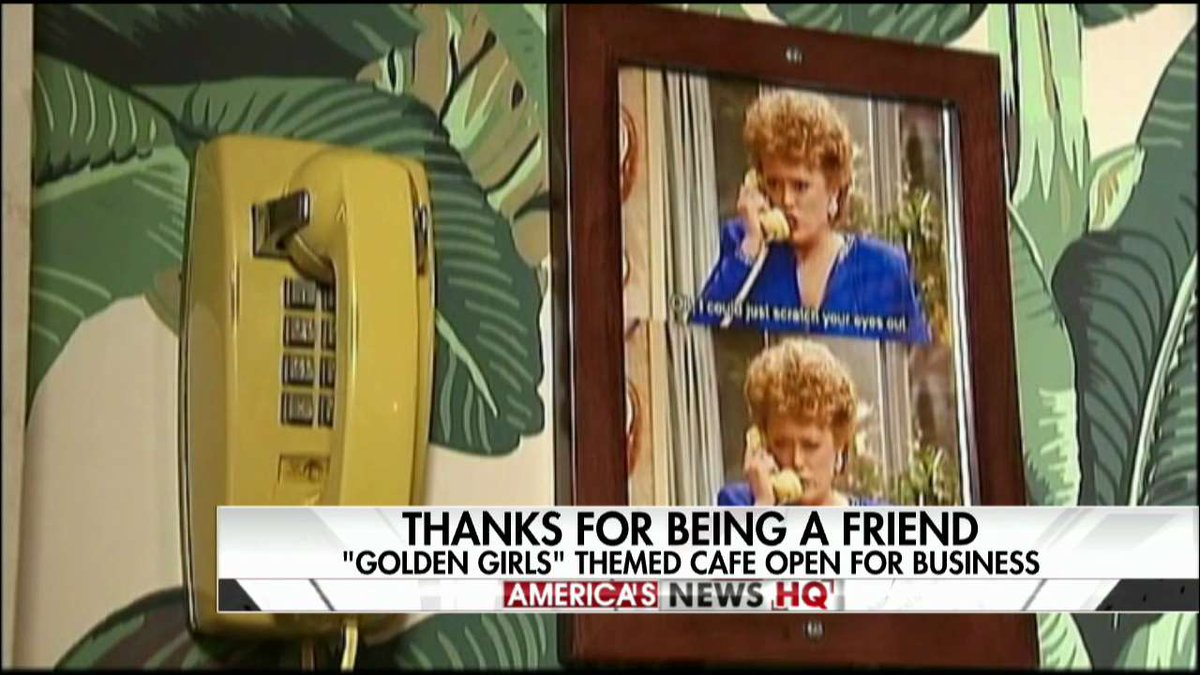 #goldengirls-Themed Cafe Opens in New York City @ANHQDC https://t.co/6btj0WKoUN