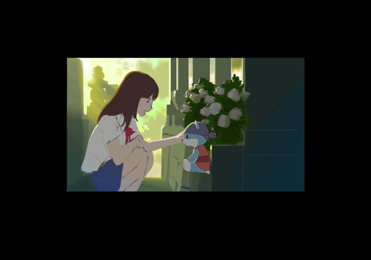 🎬『#ひるね姫』スタッフ紹介美監補佐:大森崇さん。スタジオジブリ作品『崖の上のポニョ』『コクリコ坂から』では美監補佐、美