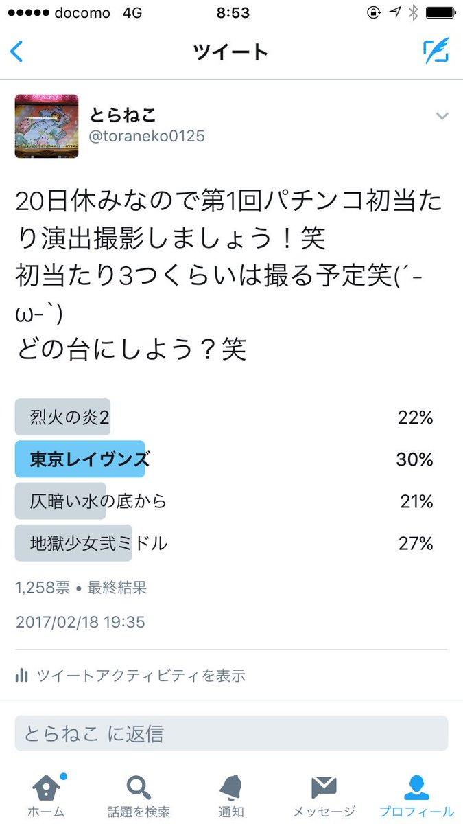 おはようございます(´-ω-`)投票ありがとうございます(´-ω-`)東京レイヴンズで頑張りましょうー笑