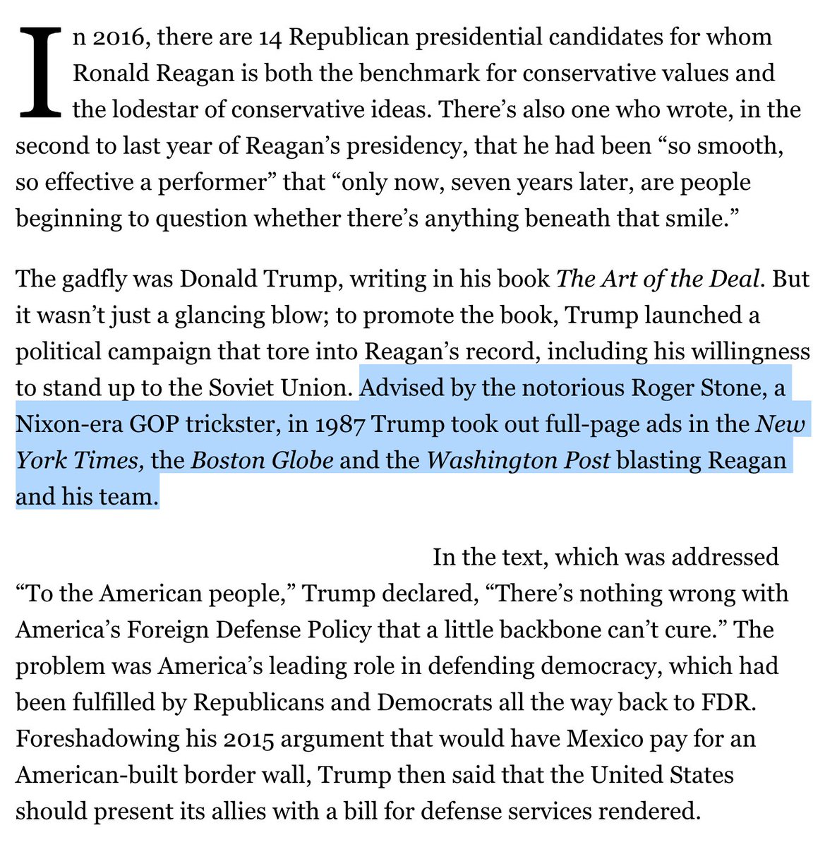 Rogers Stone and Donald Trump's Russia affinity dates back to the late 1980s, when there was still a U.S.S.R: https://t.co/GG1GrdfO1w
