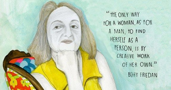 The Feminine Mystique was published on this day in 1963 – and changed everything https://t.co/tTX5irJBJh
