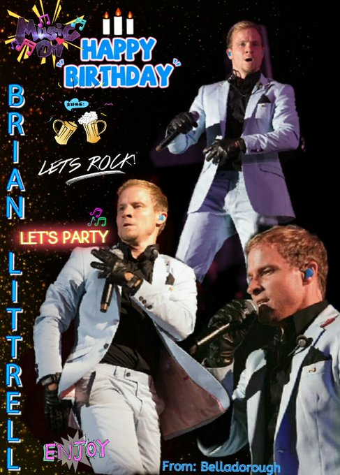 "Happy Birthday My Idol ""Brian Littrell"