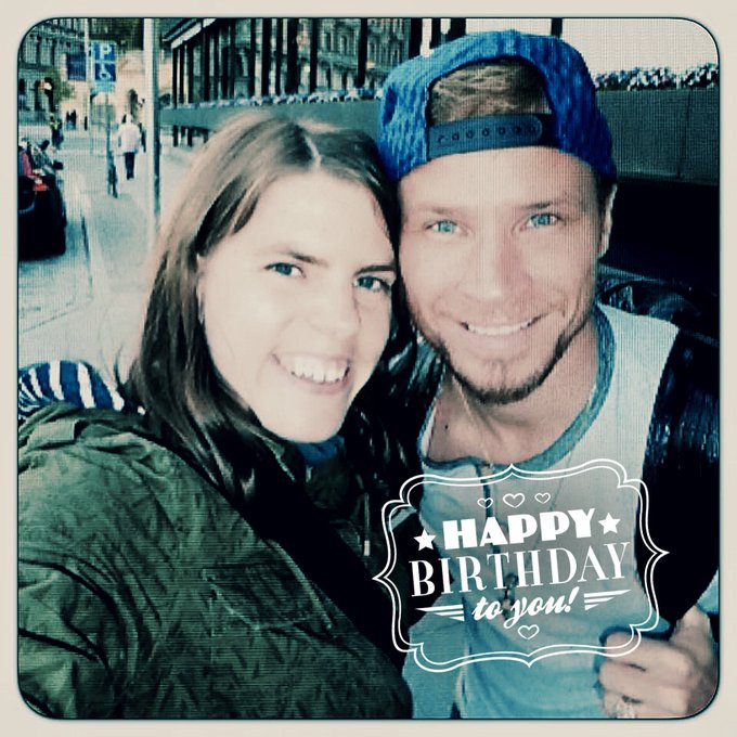 Happy Birthday !! Hope you\re having a great day. Lots of love from Sweden.