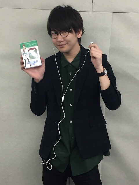 "★Pioneerコラボイヤホン★花江さんに星谷くんモデルでご試聴いただきました!優しい笑顔が素敵です♪ご好評につき""受注"